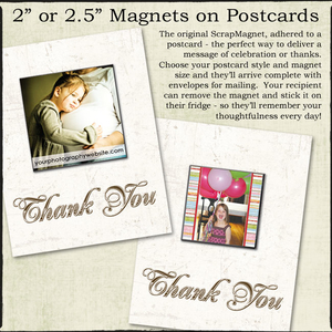 Postcards with Detachable Magnets.........starting at $3