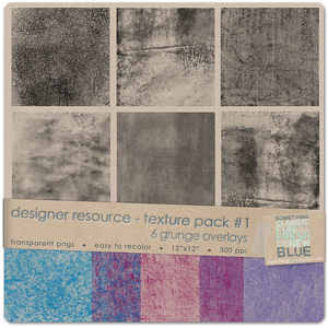 Texture Pack #1- Grunge {Designer Resource}