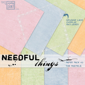 Needful Things Paper Pack 2 - The Pastels
