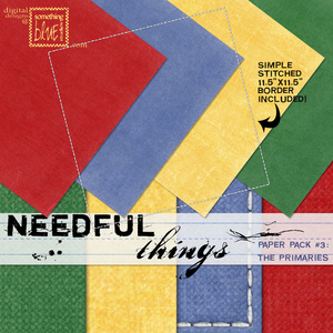 Needful Things Paper Pack 3 - The Primaries